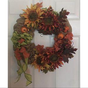 Other - 🦋Handmade fall wreath